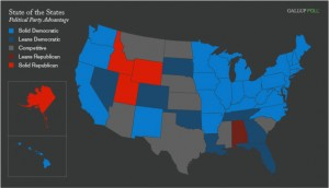 State of the states, August 2009