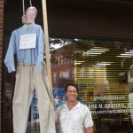 Rep. Kratovil (D-MD) is hung in effigy at a health care 'protest'