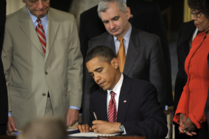 Obama has gotten bills to sign, and those bills have helped, but not going for more from the start is coming back to bite far too soon.