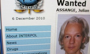 Julian Assange of Wikipedia - Wanted by Interpol, but not for what you think.