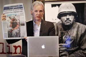 For as much truth as Mr. Assange has tried to expose, power's fear of that truth has finally caught up with him.